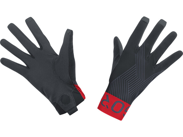 GORE WEAR C7 Pro Guantes, black/red